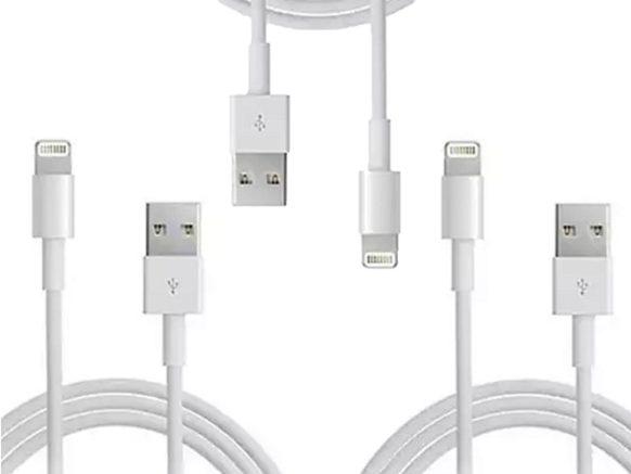 MacTrast Deals: 6.5-Ft MFi-Certified Lightning Cables: 3-Pack