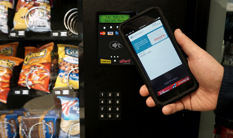 CES 2017: USA Technologies Announces MORE. Vending Machine Loyalty Integration with Apple Pay
