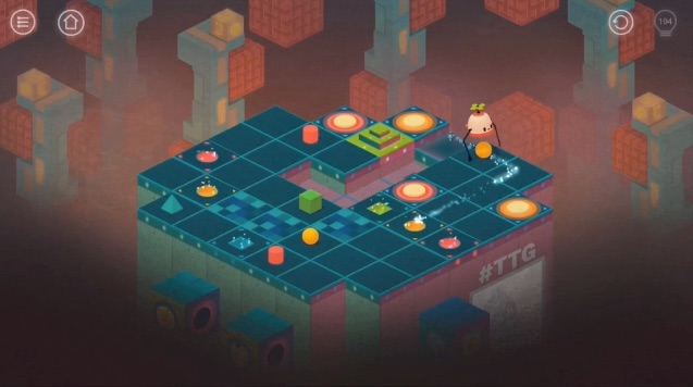 Roofbot Puzzler On The Roof Is The Apple App Store Free