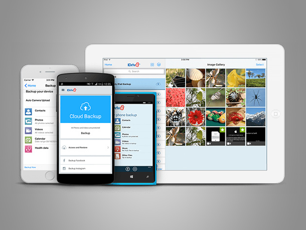 MacTrast Deals: IDrive Unlimited Mobile Backup: Lifetime Subscription