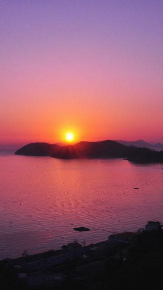 iPhone Wallpaper Sunset Pink