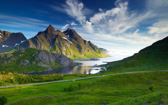 Mac Wallpaper Norway Lake