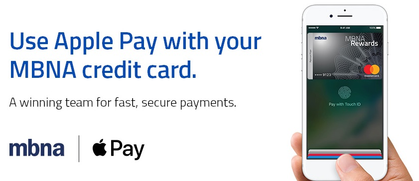 MBNA Canada Offering Apple Pay Support to Customers