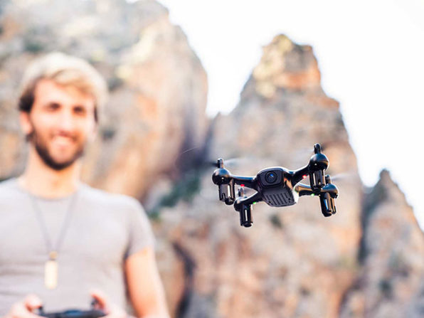 MacTrast Deals: Fader Stealth Drone - There's Nothing This Mini-Drone Can't Do!