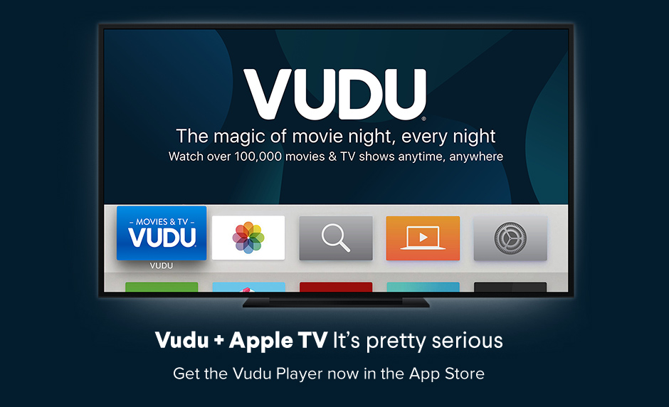 VUDU App Arrives on Fourth-Generation Apple TV