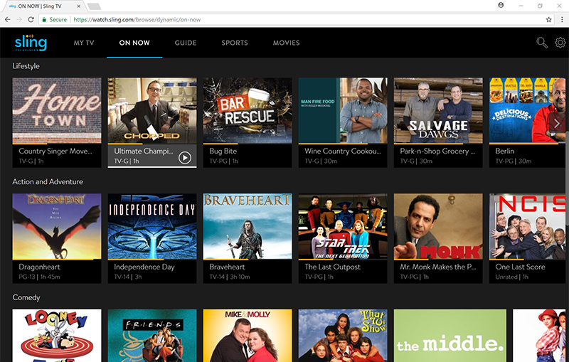 Sling TV Brings In-Browser Viewing to Google Chrome Browser