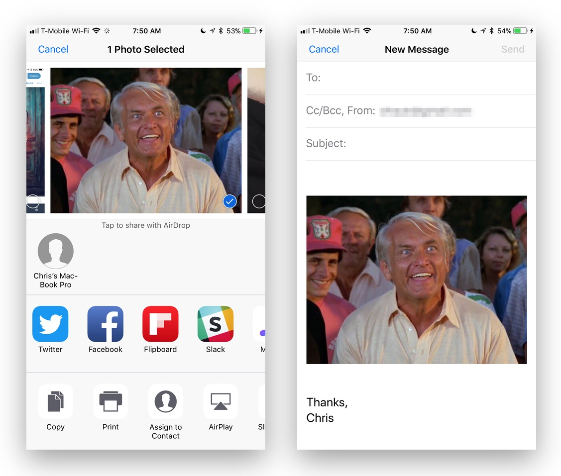 iOS for Beginner's: How to Share Photos From Your iPhone or iPad