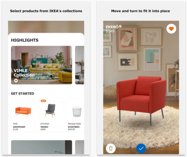 IKEA Place Augmented Reality Furniture Placement App Now Available for Download