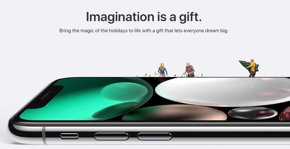 Apple Launches 2017 Holiday Gift Guide Site