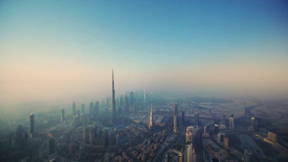 Dubai in the morning