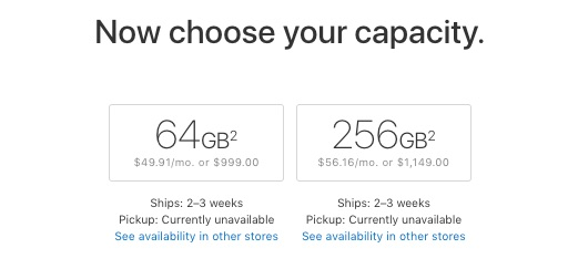 iPhone X Now Shipping in 2 to 3 Weeks in United States and Canada From Apple Online Store