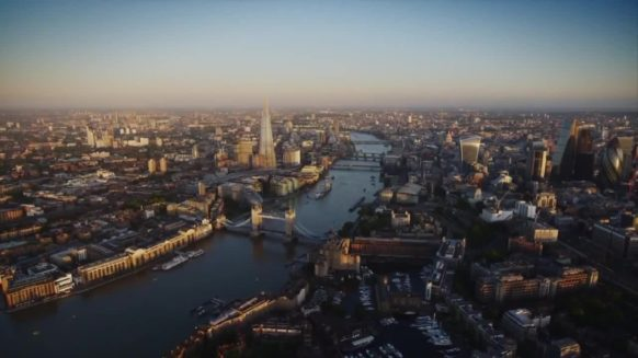 london during day the shard and tower bridge skyline