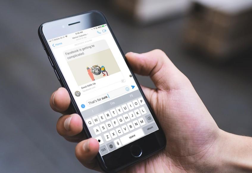 Frustrating Keyboard Bug Hits iOS Facebook Messenger App Users