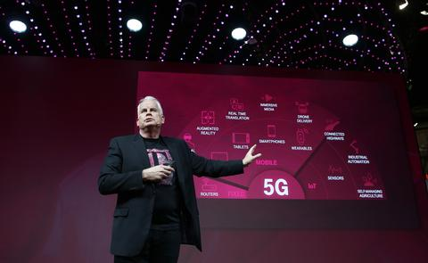 T-Mobile and Sprint Announce 5G Network Plans for U.S.