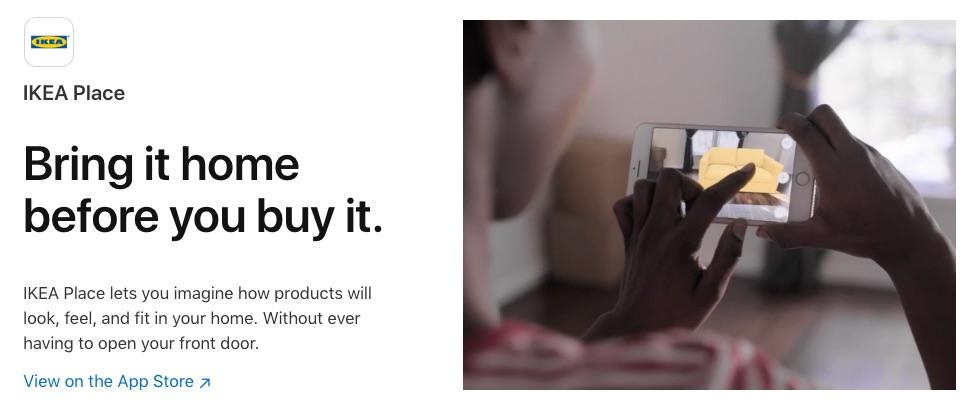 New Apple Mini-Sire Promotes ARKit Augmented Reality Platform