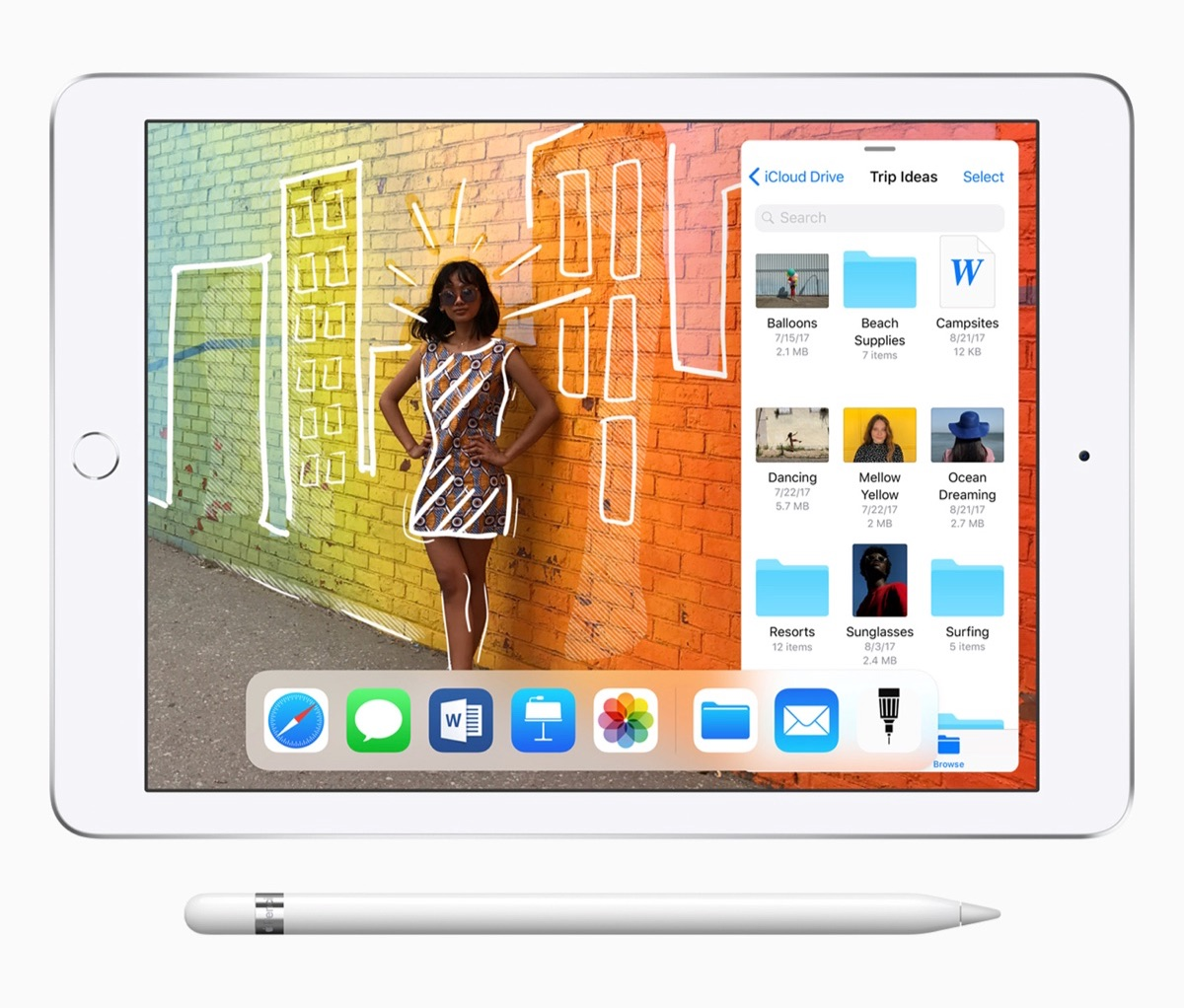 Apple Debuts New 9.7-inch iPad - Includes Apple Pencil Support