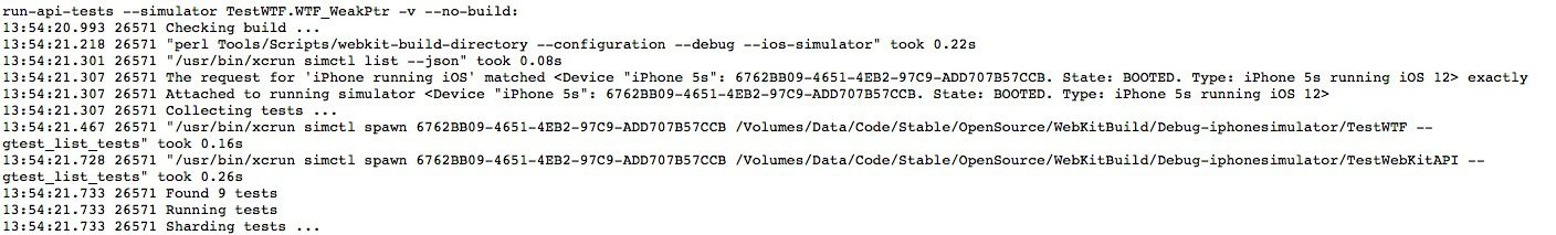 iOS 12 on iPhone 5s References Appear in WebKit Testing Logs