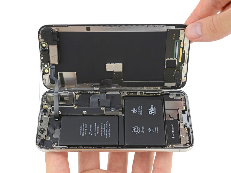 iFixit iPhone X Teardown Provides Look at TrueDepth Camera System, Stacked Logic Board, More