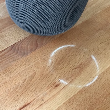 Apple Responds to HomePod 'White Ring' Issue