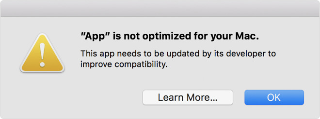 macOS to Begin Alerting Users Apple Will Soon End Support for 32-Bit Apps