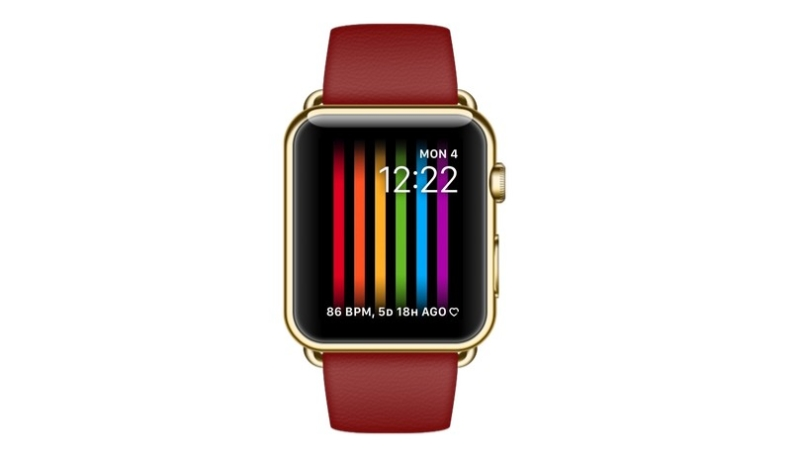 """watchOS 4.3.1 Code Indicates """"Rainbow Flag"""" Watch Face for Apple Watch on the Way"""