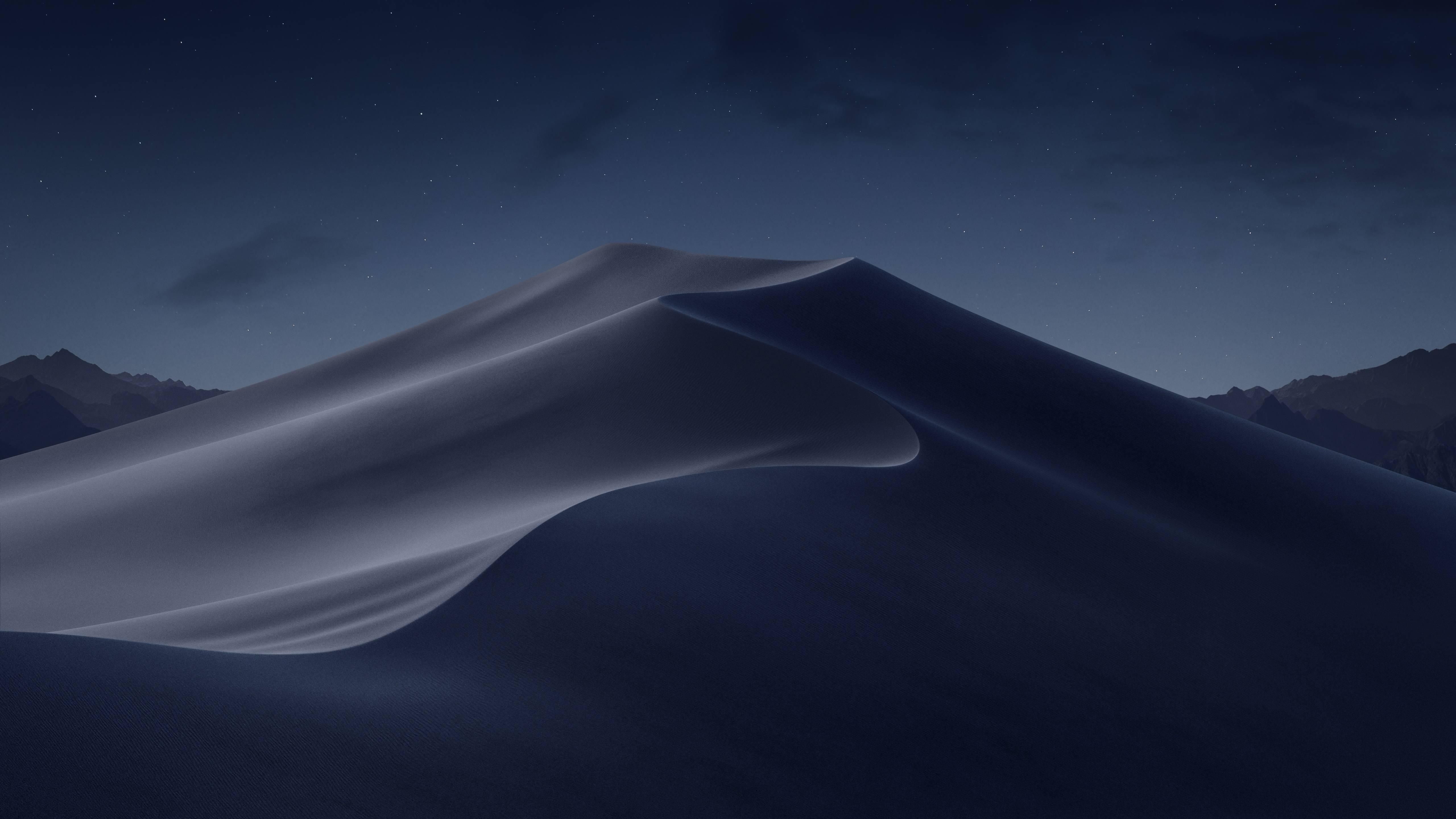 macOS Mojave Night Desert