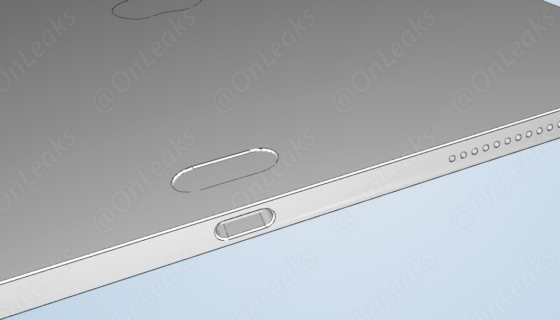 iPad Pro CAD image with unknown thing on back