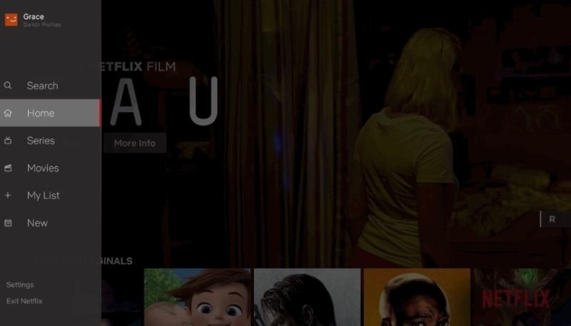 Netflix Previews Overhauled 'TV Apps' Navigation Interface