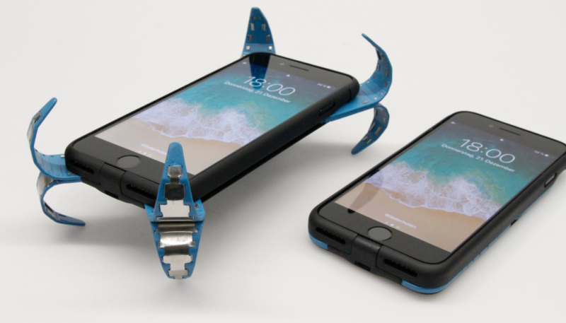 This Clever iPhone Case Will Pop Open to Protect Your Device When you Drop It