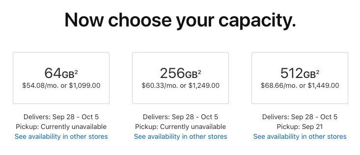 Shipping Estimates Begin Sliding for iPhone XS Max and Apple Watch Series 4 Pre-Orders