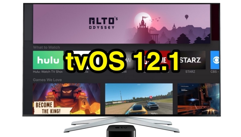 Apple Releases Fifth Betas of tvOS 12.1 and watchOS 5.1