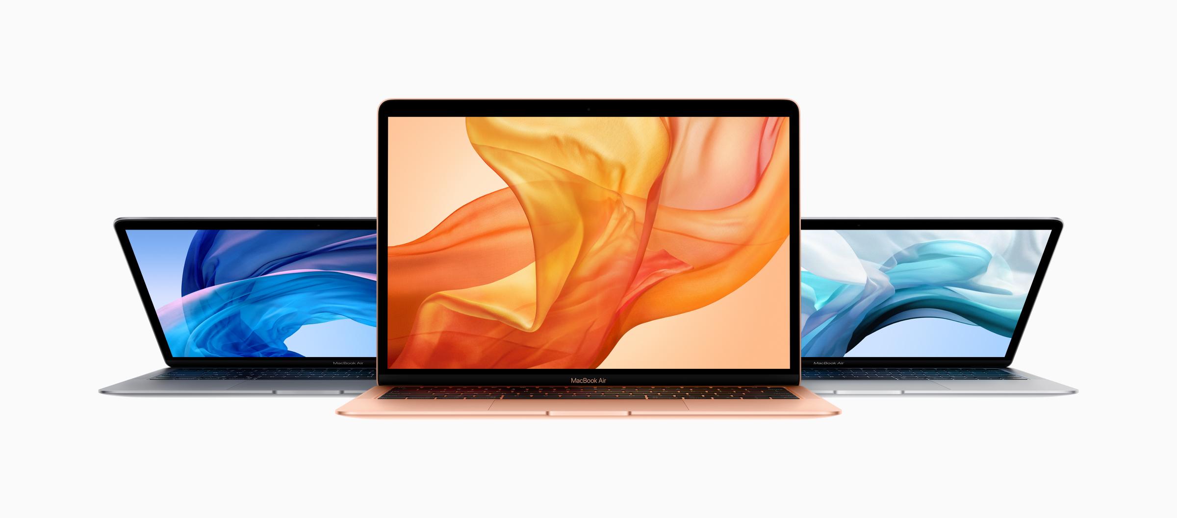 Apple Debuts New MacBook Air - Retina Display, Faster Processors, USB-C, T2 Chip, More