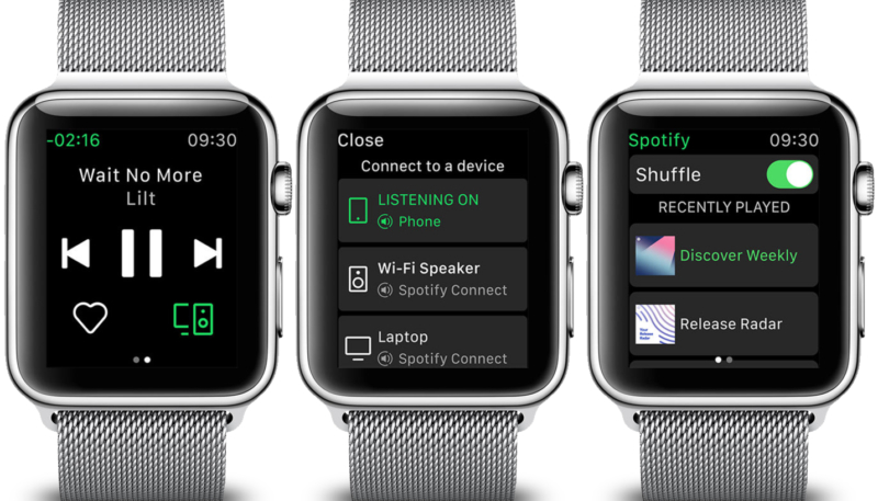 Spotify App for Apple Watch Finally Available – Albeit in a Limited Fashion