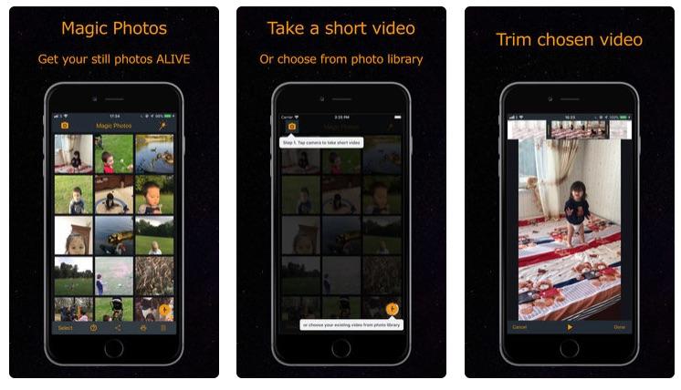 Magic Photos – AR Animates Still Photos on Your iPhone
