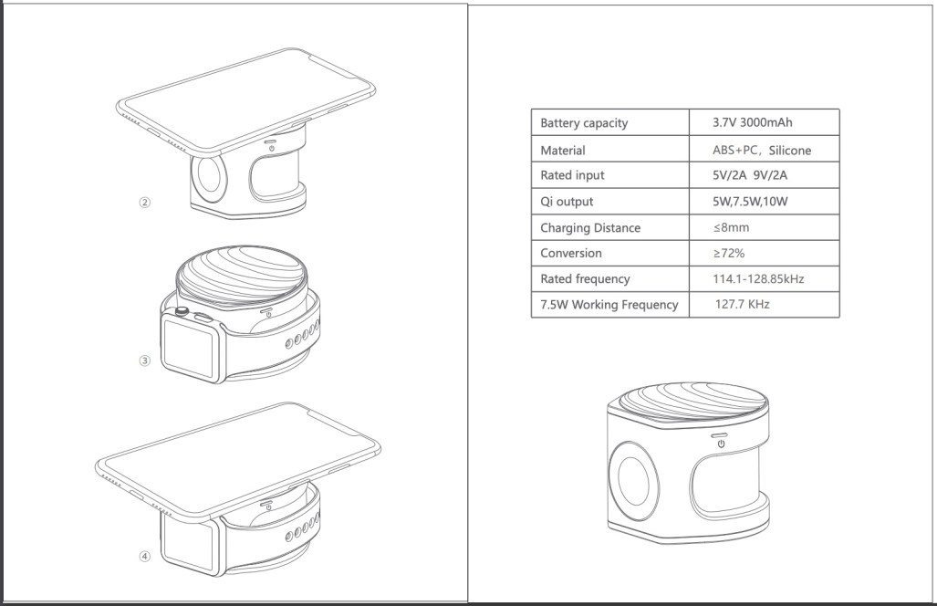 AT&T Planning to Release 2-in-2 iPhone and Apple Watch 'Power Drum' Charger Boasting 3,000mAh Battery