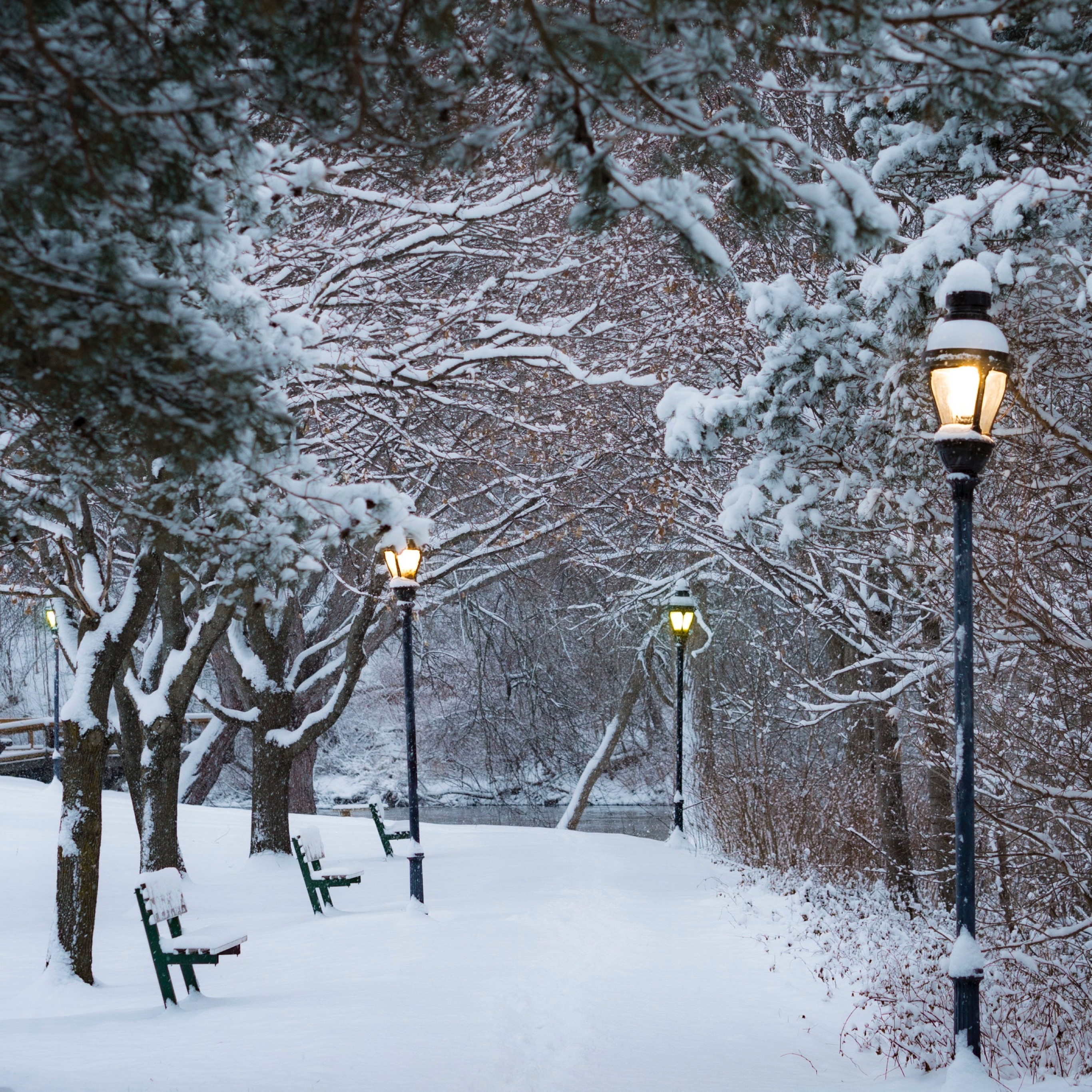Wallpaper Weekends: Winter Wonderland Wallpapers for iPhone and iPad
