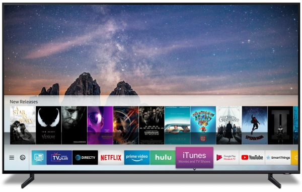 2019 & 2018 Samsung Smart TVs to Support iTunes Movies & TV Shows and AirPlay 2 in Spring 2019