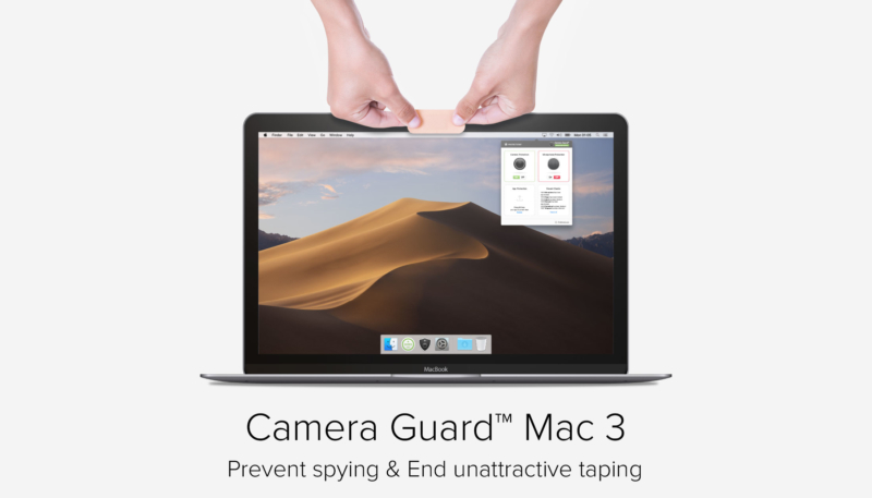 Camera Guard Mac 3 Offers Improved Webcam and Mic Blocker Protections for Mac
