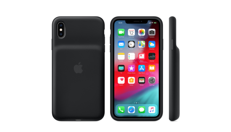 Apple Launches New Smart Battery Cases for iPhone XS, XS Max & XR
