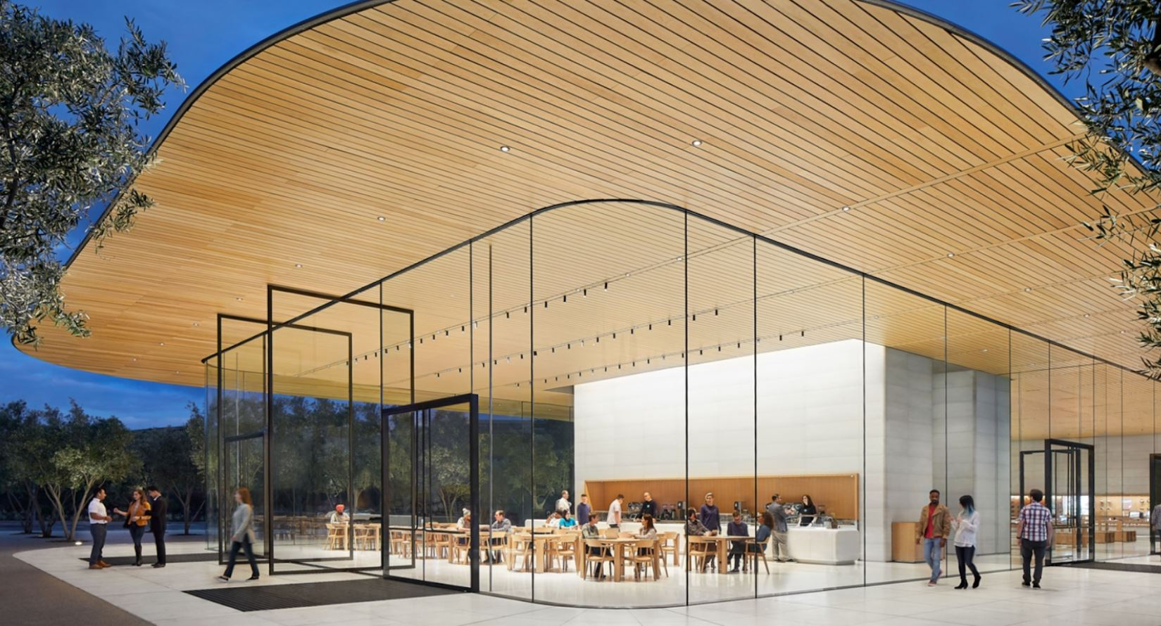 Apple Park Visitor Centre Cupertino