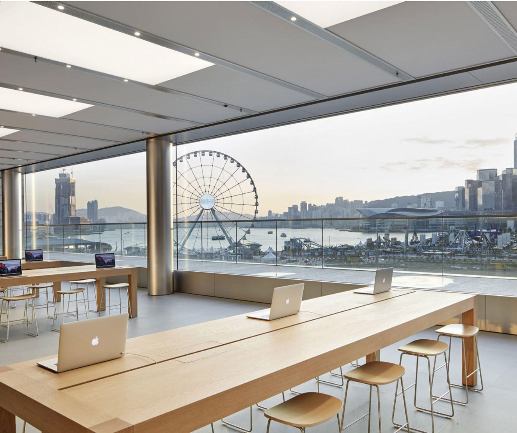 Apple Store IFC Mall_ Hong Kong