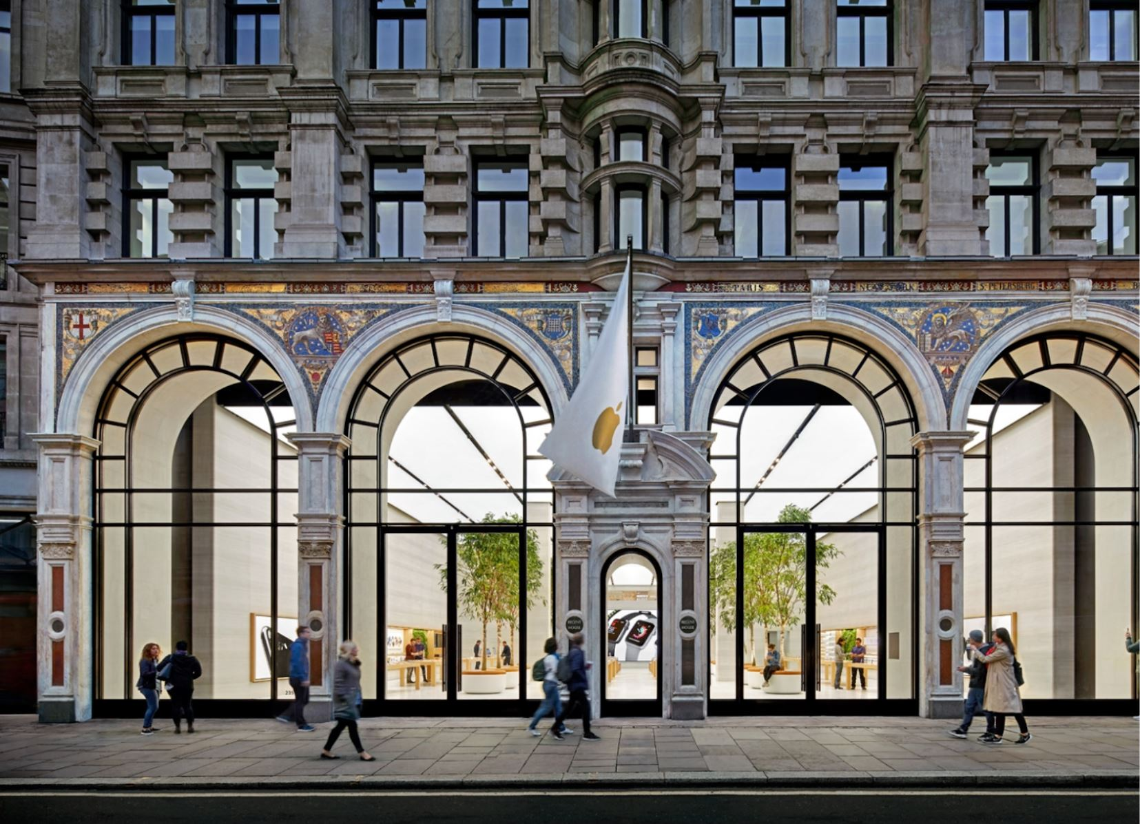 Apple Store Regent Street_ London_ UK