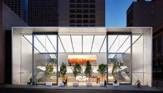 Apple Store Union Square_ San Fransisco_ USA