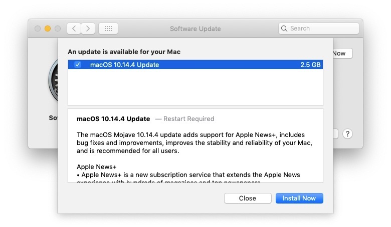 macOS Mojave 10.14.4 Update Now Available – Adds Apple News+ and Safari Automatic Dark Mode Support