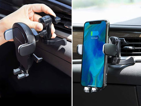 MacTrast Deals: 7.5W Wireless Car Charging Mount + QC 3.0 Charger
