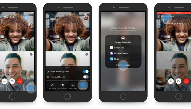 Screen Sharing Comes to Betas of iOS and Android Versions of Skype