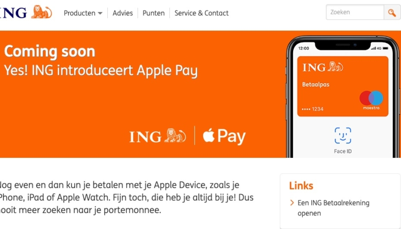 The Netherlands Could be the Next Rollout for Apple Pay