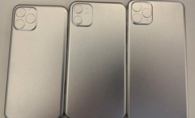 Alleged 2019 iPhone Case Molds Show Square Camera Bumps on All 2019 iPhones