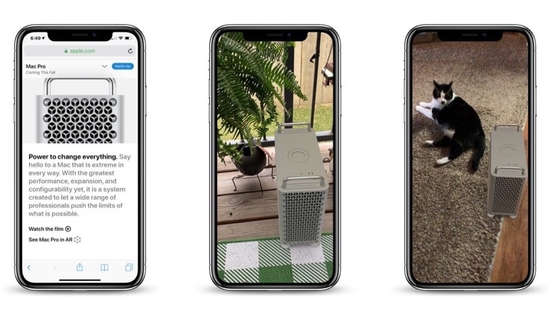 See What the New Mac Pro Would Look Like on Your Desk – Or On the Front Porch