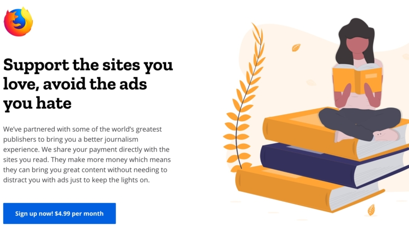 Mozilla Tests the Waters For an Apple News+ Competitor